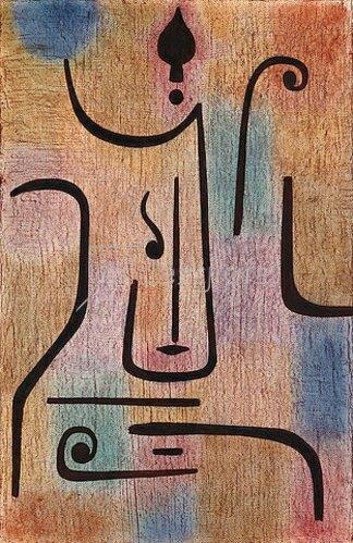 Paul Klee: Der Erzengel. 1938.