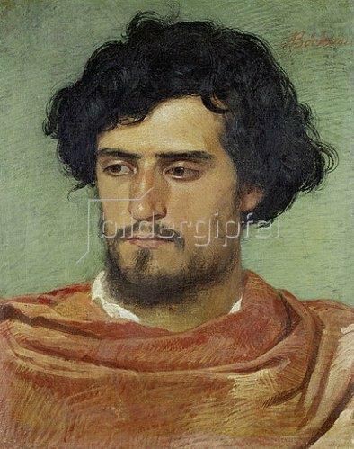 Arnold Böcklin: Kopf eines Römers. 1863
