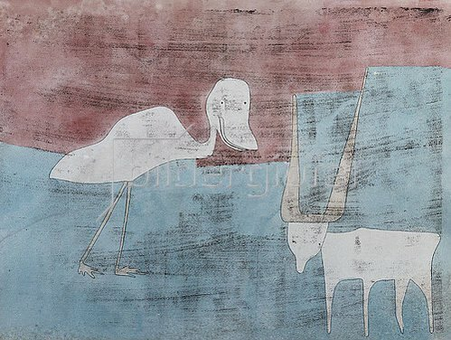 Paul Klee: Tier-Freundschaft. 1930