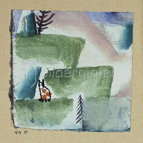 Paul Klee: Revier eines Katers. 1919