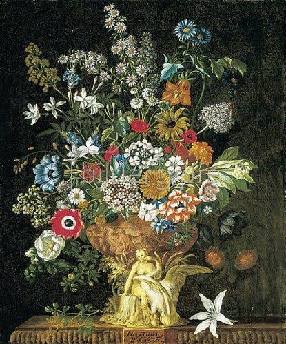 Pieter Casteels III: Die zwölf Monate. Ein floraler Kalender - November. 1730-31