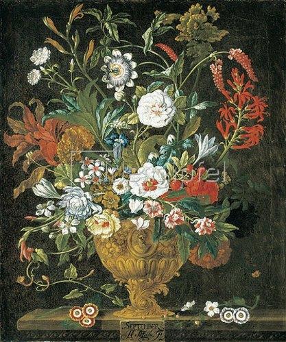 Pieter Casteels III: Die zwölf Monate. Ein floraler Kalender - September. 1730-31
