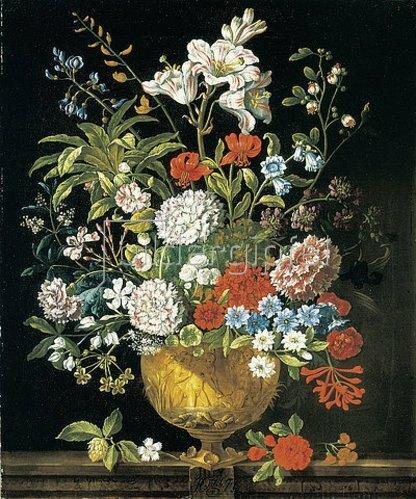 Pieter Casteels III: Die zwölf Monate. Ein floraler Kalender - Juli. 1730-31