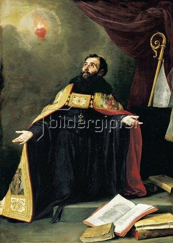 Bartolomé Estéban Murillo: Der Heilige Augustinus in Ekstase.