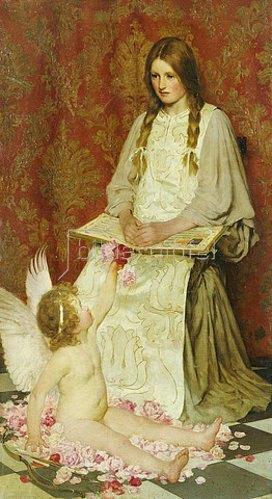 William Henry Margetson: Der Fremde. 1902