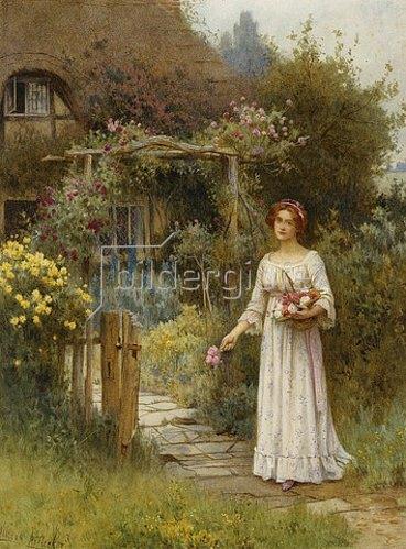 William Affleck: Am Gartentor.