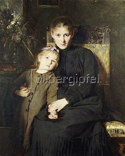 Bertha Wegmann: Mutter und Tochter.