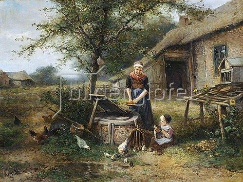 Mari (Johann M. Henri) Ten Kate: Auf dem Bauernhof.