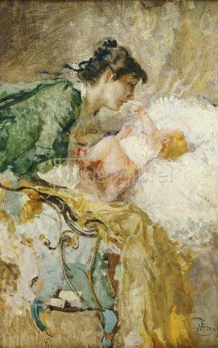 Mose Bianchi: Mutterschaft.