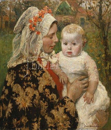 Gari Melchers: Die junge Mutter.