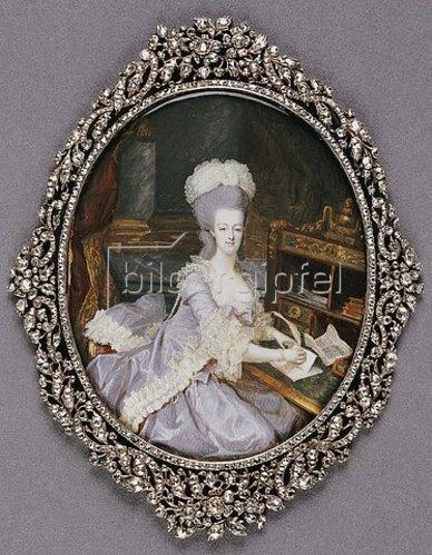 Francois Dumont: Königin Marie Antoinette. Um 1777