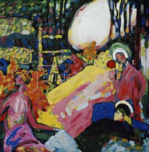 Wassily Kandinsky: Weißer Klang. 1908