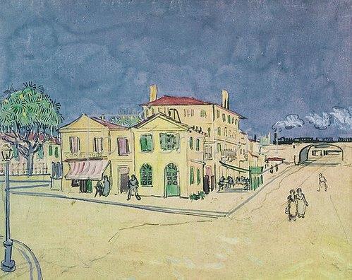 Vincent van Gogh: Das Gelbe Haus (Die Straße). 1888