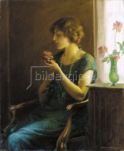 Charles Courtney Curran: In voller Blüte. 1924