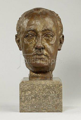 Georg Kolbe: Bildnis Francisco Franco. 1938
