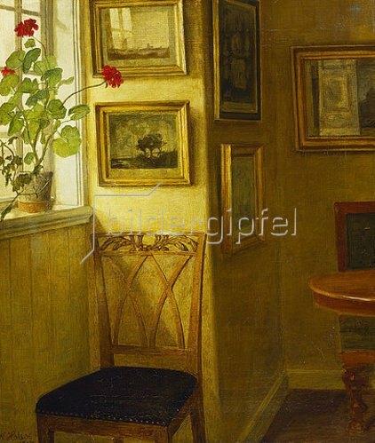 Niels Holsoe: Der Stuhl am Fenster. 1907