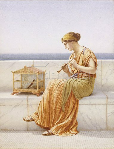 John William Godward: A Song without words.
