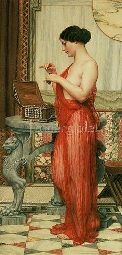 John William Godward: Das neue Parfum. 1914