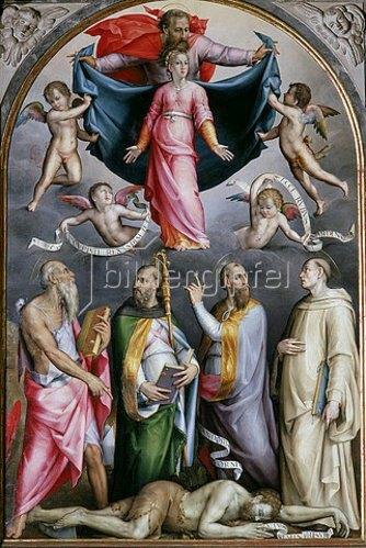 Piero di Cosimo: Mariae Empfängnis.