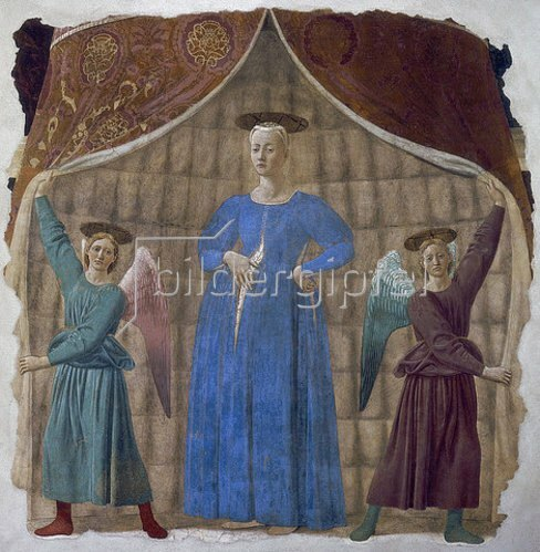 Piero della Francesca: Madonna del Parto. Um 1450-70