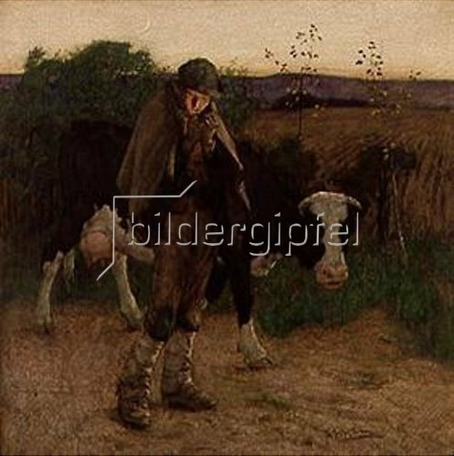 Thomas Austen Brown: Abend. 1892.