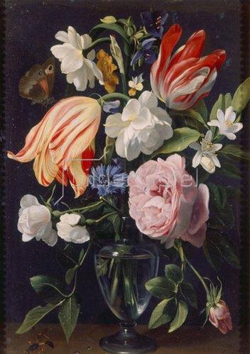 Daniel Seghers: Vase mit Blumen. 1637