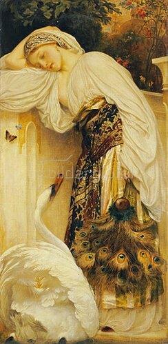 Frederic Leighton: Odalisk.