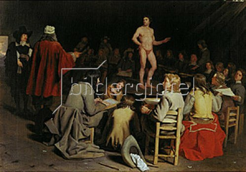Michael Sweerts: Maleratelier.