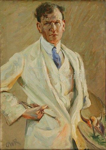 Ottilie Roederstein: Bildnis des Malers Jacob Nussbaum. 1904