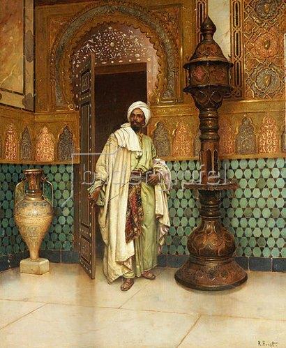 Rudolph Ernst: Araber in einem Palast.