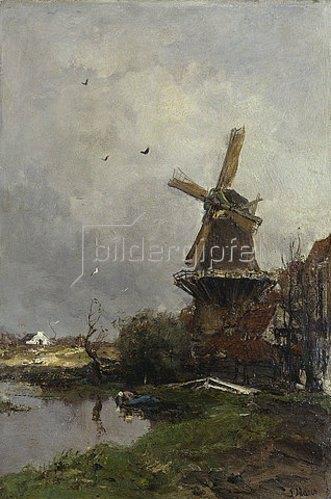 Jacob Maris: Die Mühle.