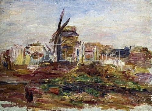 Auguste Renoir: Eine Windmühle.