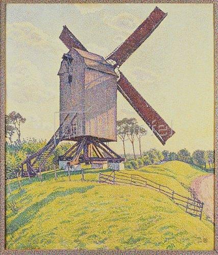 Theo van Rysselberghe: Die Mühle in Kalf. 1894