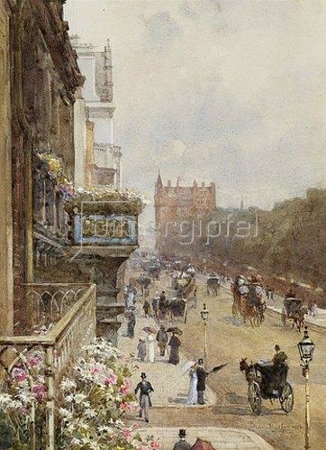 Rose Maynard Barton: Piccadilly, London. 1894