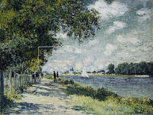 Claude Monet: Die Seine bei Argenteuil. 1875