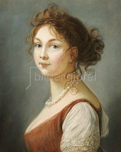 Elisabeth-Louise Vigée-Lebrun: Bildnis der  Königin Luise von Preussen (1776-1810).