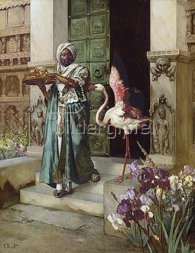 Rudolph Ernst: Im Palastgarten.