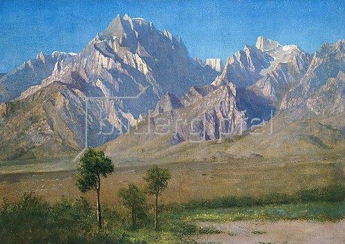 Albert Bierstadt: Camp Independence, Colorado. 1873