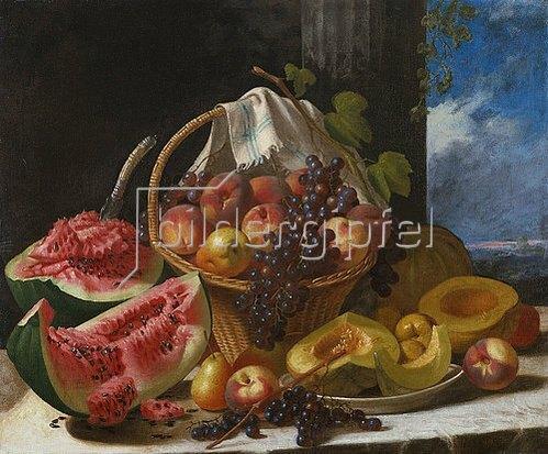 John F. Francis: Stillleben mit Früchten.
