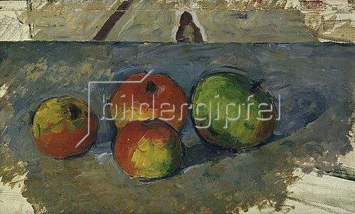 Paul Cézanne: Vier Äpfel. Um 1879-82
