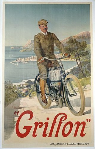 Frederic Hugo d'Alesi: Griffon. Um 1904