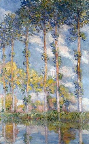Claude Monet: Pappeln. 1881