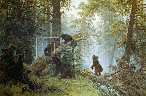 Iwan Iwanowitsch Schischkin: Morgen im Föhrenwald. 1889