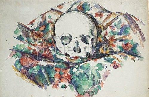 Paul Cézanne: Schädel auf einem Tuch. Um 1902-06