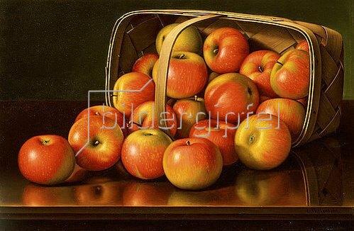 Levi Wells Prentice: Äpfel. Um 1892