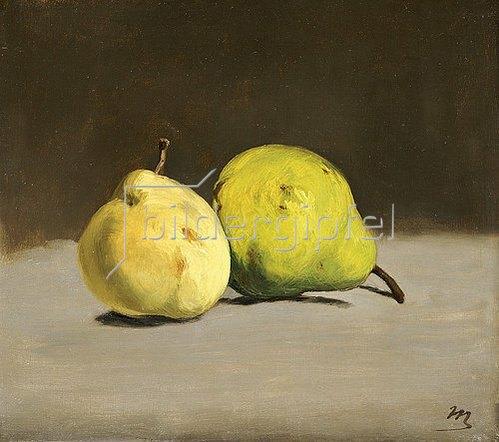 Edouard Manet: Zwei Birnen. 1864