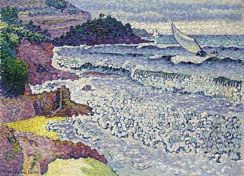 Henri Edmond Cross: Das rauschende Meer. Um 1903
