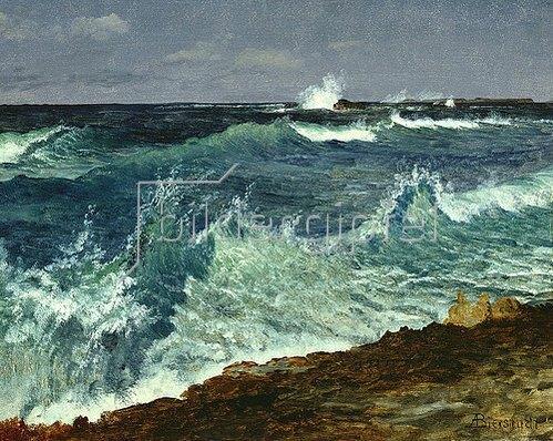Albert Bierstadt: Seestück.