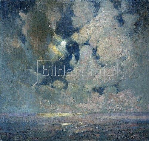 Soren Emil Carlsen: Das Meer bei Sonnenaufgang.