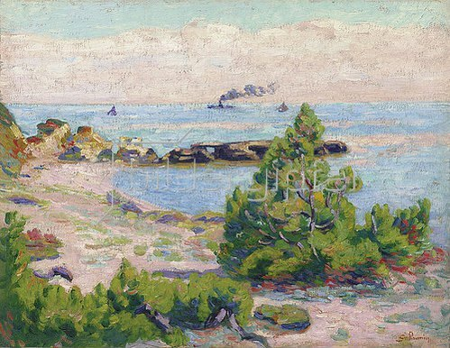 Jean-Baptiste Armand Guillaumin: Saint Palais, Pointe De La Perriere. Um 1893